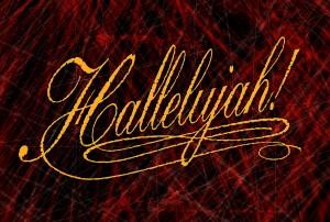 Halleluja-on-red